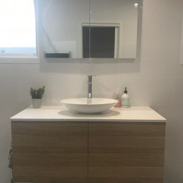 Custom Vanity and Bathroom Renovation