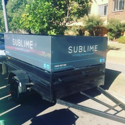 Sublime Kitchens & Bathrooms trailer